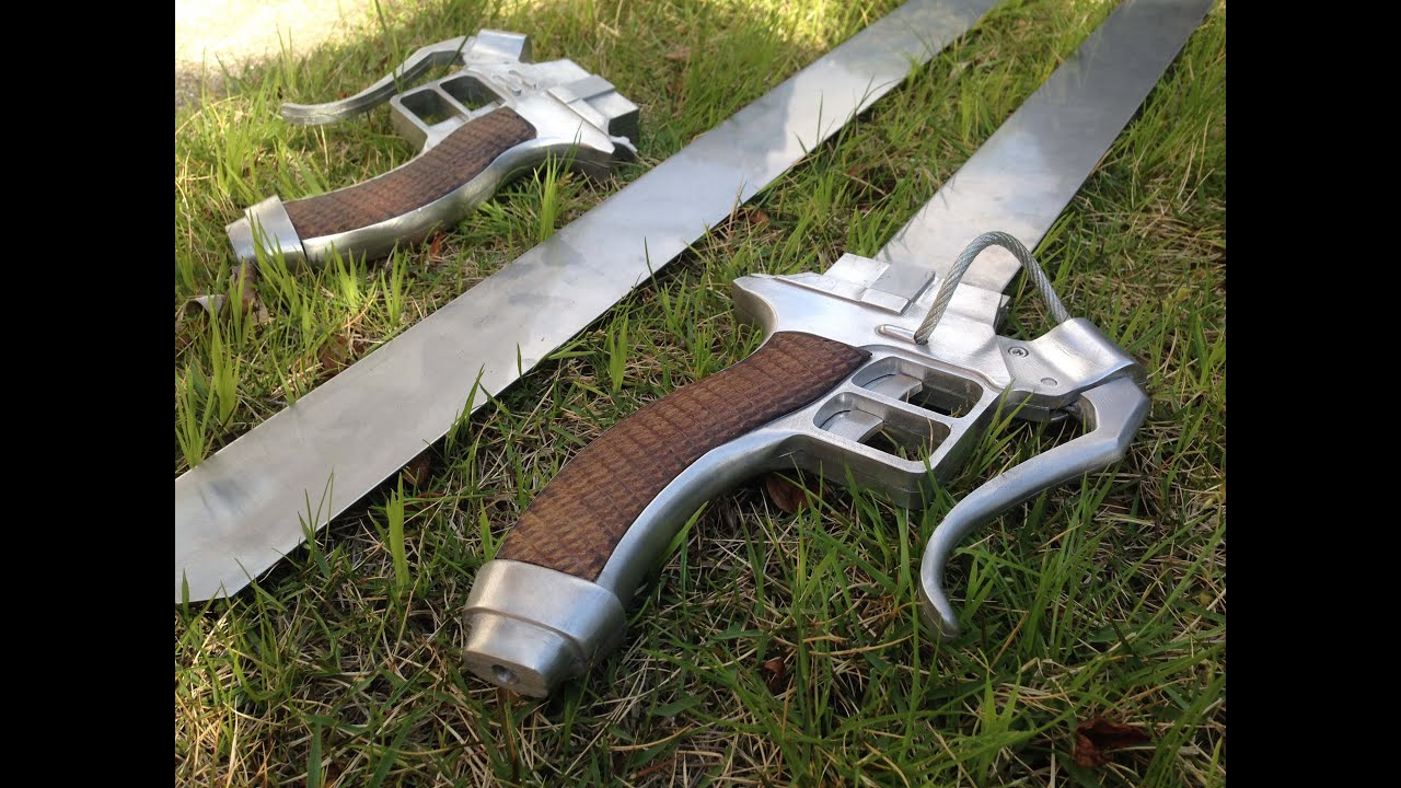 Real Functional Attack On Titan Swords This Man S Year Long Project Will Blow Your Mind Soranews24 Japan News