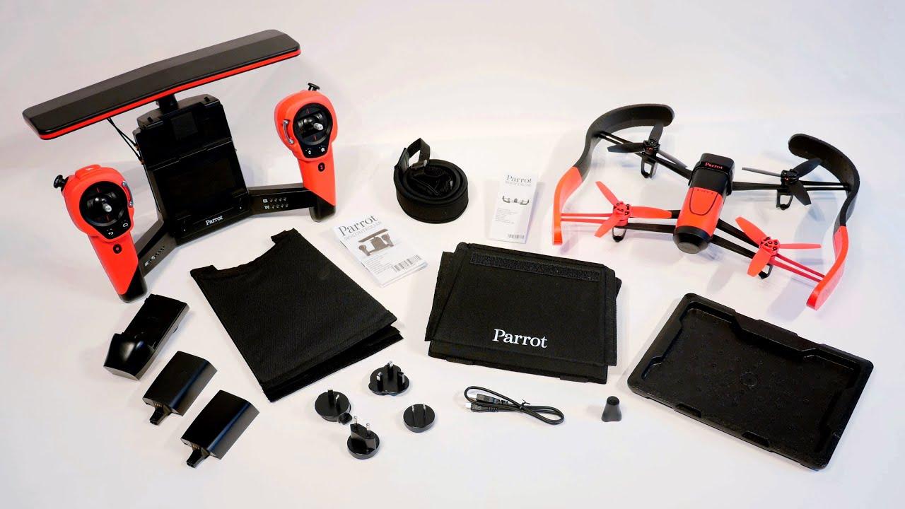 Parrot Bebop Drone & Skycontroller - Unboxing