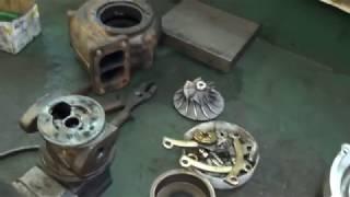 Ремонт турбокомпрессора с автомобиля Mercedes Actros