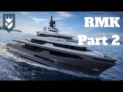 RMK Marine - 58 meter 50 meter Explorer Yachts!