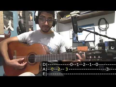 8 Bordoneos De Zamba | Tonalidad De La (Mayor Y Menor) - Tutorial Guitarra