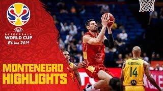 Montenegro   Top Plays & Highlights   FIBA Basketball World Cup 2019