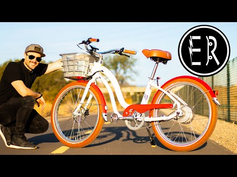 The BEST Step-thru Electric Beach Cruiser Under $1400! Electric Bike Company Model Y Review