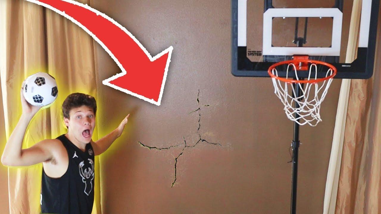 house-mini-basketball-gone-wrong-broken-wall