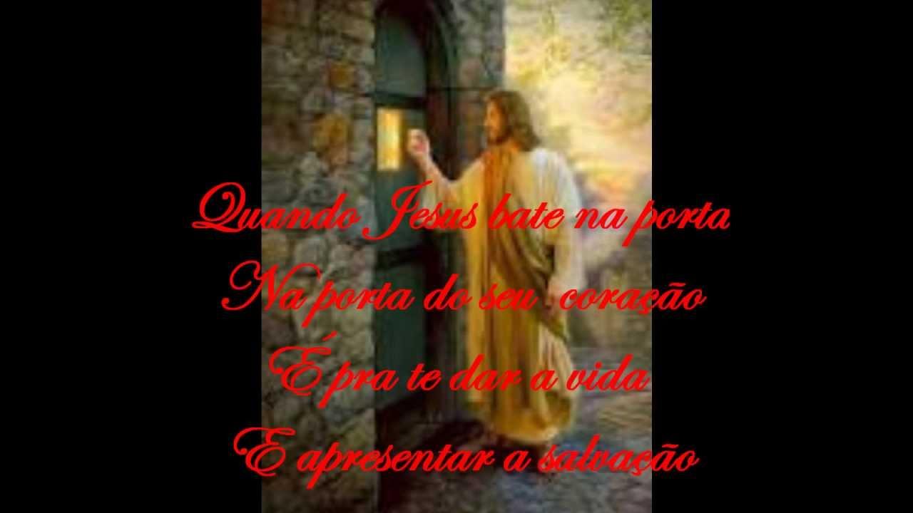 Jesus bate na porta youtube for Jesus a porta
