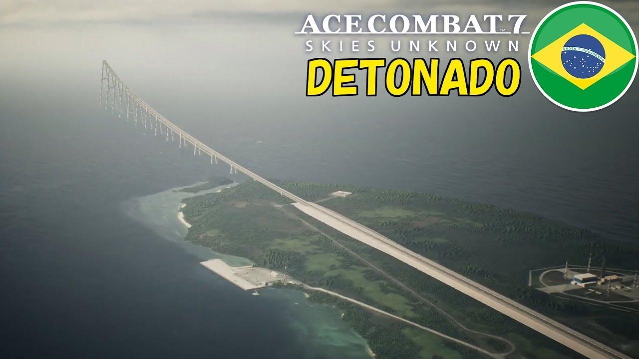 Ace Combat 7 Detonado PT-BR: Parte #17 | Evacuação da Ilha