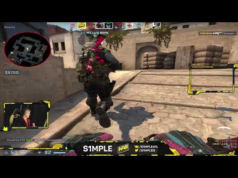 S1mple Plays Faceit 20190312