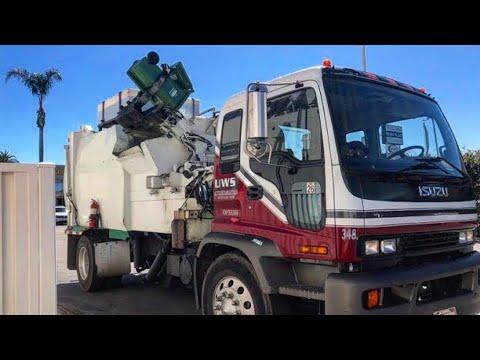 Universal Waste's Isuzu/Bridgeport CUSTOM Foodwaste Collection Truck