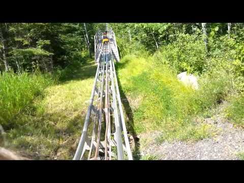 Alpine slide at Spirit Mountain Minnesota