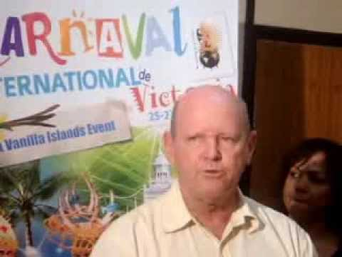 Seychelles' Tourism Minister St. Ange launches countdown for 2014 Carnival