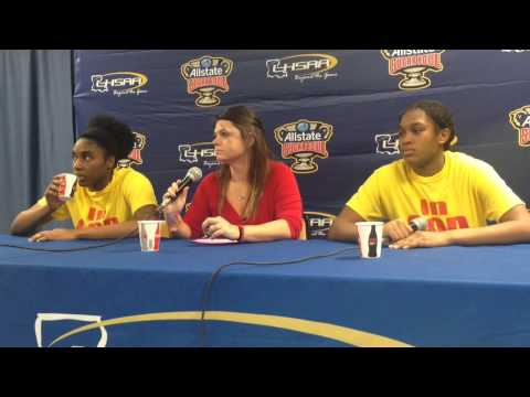 North Caddo coach Angela Channell says Rebels won without giving best performance | Video