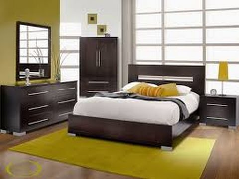 decoration chambre a coucher moderne youtube. Black Bedroom Furniture Sets. Home Design Ideas