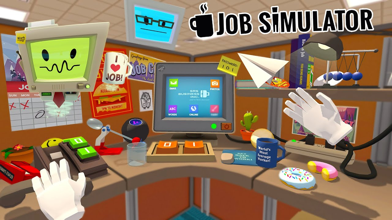 THE WORST OFFICE EMPLOYEE - Job Simulator (VR)
