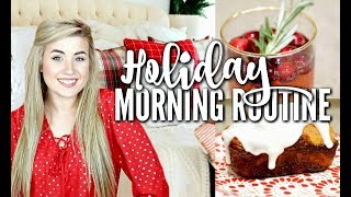 HOLIDAY MORNING ROUTINE FOR KIDS 2017 | Cleaning, Christmas Breakfast, Homeschool Routine | Love Meg