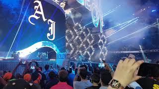 AJ Styles Wrestlemania 34 Entrance Audience POV