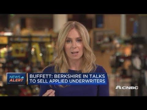 Warren Buffett: Berkshire in talks to sell Applied Underwriters
