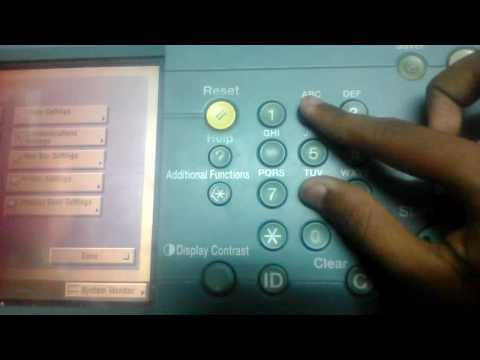 How to fix E00005-010 error on Canon iR5075