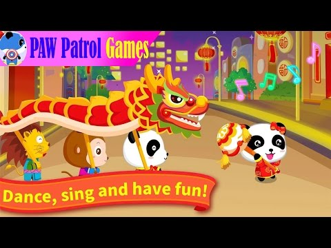 Paw Patrol Games - Chinese New Year 2017 - Fun Game For Kids