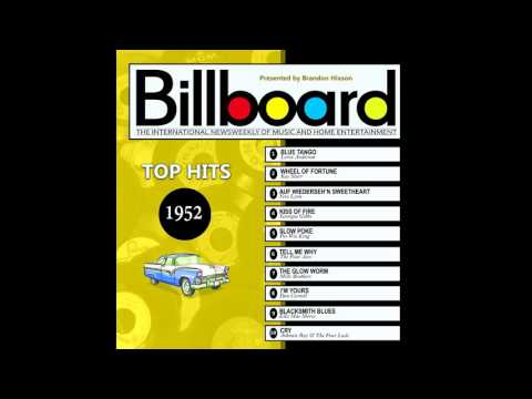 Billboard Top Hits - 1952