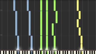 """""""O Come, O Come Emmanuel"""" - Synthesia MIDI Piano Cover"""