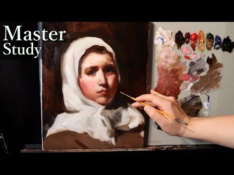 portrait-painting-tutorial- -diego-velázquez-master-study