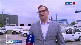 Ульяновцам вручили новые автомобили