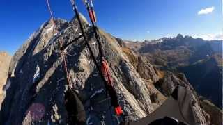Amazing sport of Paragliding