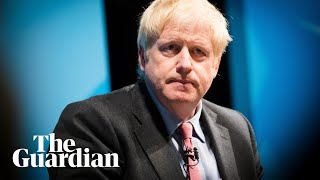 Boris Johnson admits he should have been more supportive towards Darroch after heckle