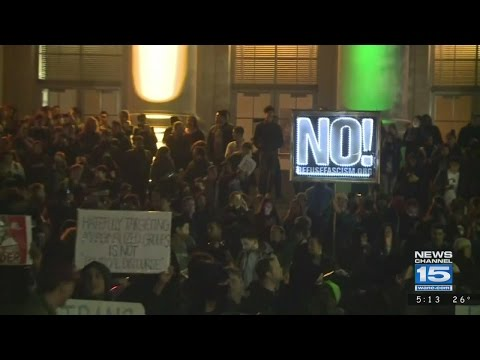 IPFW Police react to UC Berkeley protests