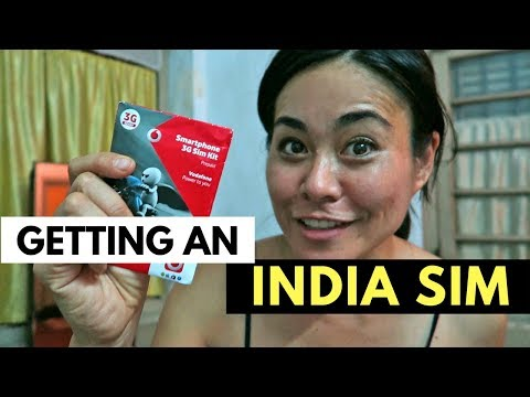 GETTING A SIM CARD IN INDIA | INDIA TRAVEL TIPS