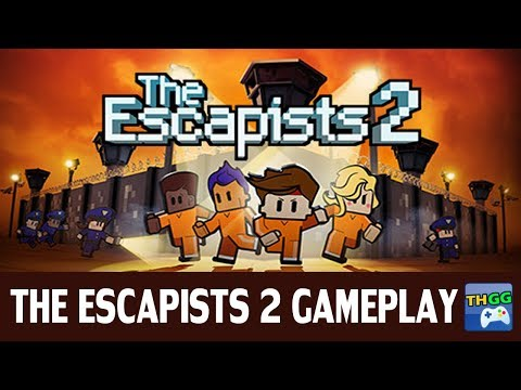 The Escapists 2 - Solo 【H.M.P Offshore - Perimeter Breakout (Method 2)】