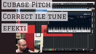 PITCH CORRECT İLE TUNE EFEKTİ ( Cubase 5 ve Elements kullananlar için)