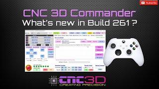 CNC3D Commander Updates - Build 261 - Powerful GRBL control software