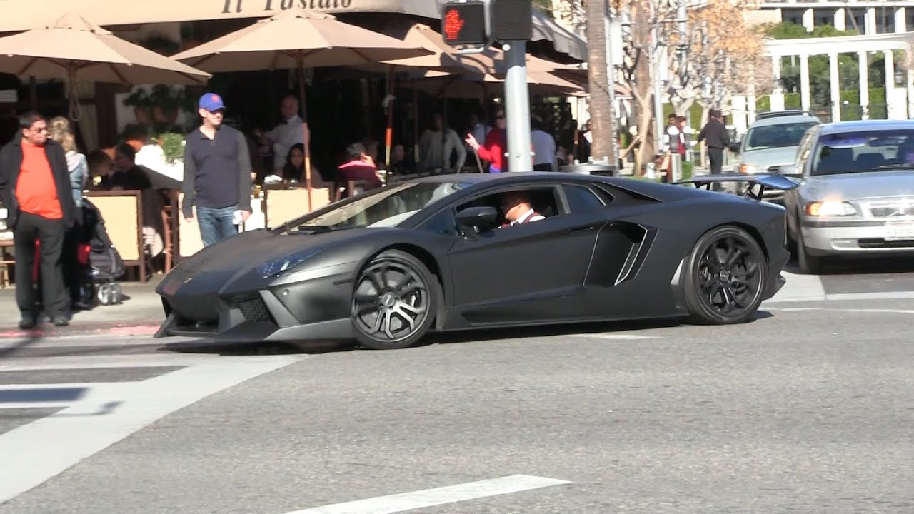 Lamborghini Aventador With Dmc Kit Driving Like A Grandma