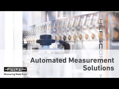 FISCHER│Automated Measurement Solutions, Inspection/Analyzing random samples in running productions