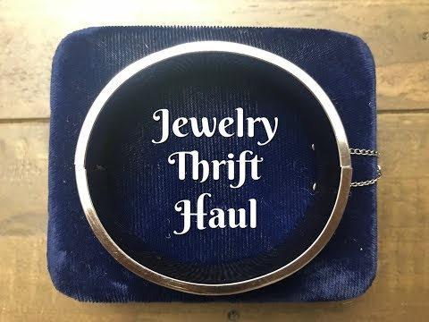 Thrift Haul Salvation Fall Sale Jewelry