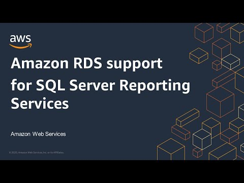 Amazon RDS support for SQL Server Reporting Services