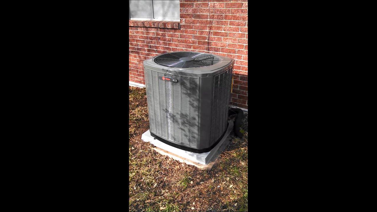 Trane Xr15 Heat Pump You