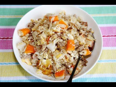 ข้าวผัดปูอัด เมนูอาหารจานเดียวที่ทำง่ายและอร่อย