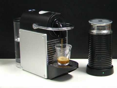 the perfect espresso with the magimix nespresso pixie coffee machine youtube. Black Bedroom Furniture Sets. Home Design Ideas