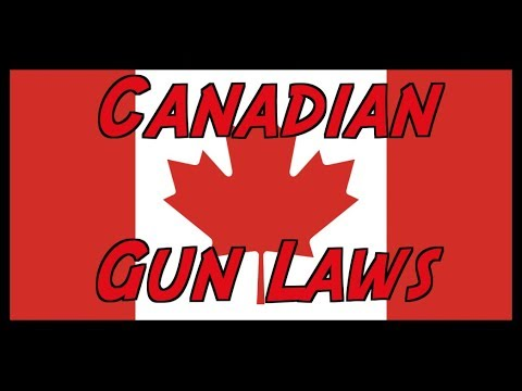 Overview Of Canadian Gun Laws