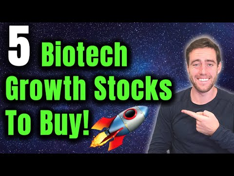Top 5 Innovative BioTech Stocks To Buy Now!