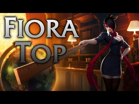 League of Legends   Headmistress Fiora Top - Full Game Commentary