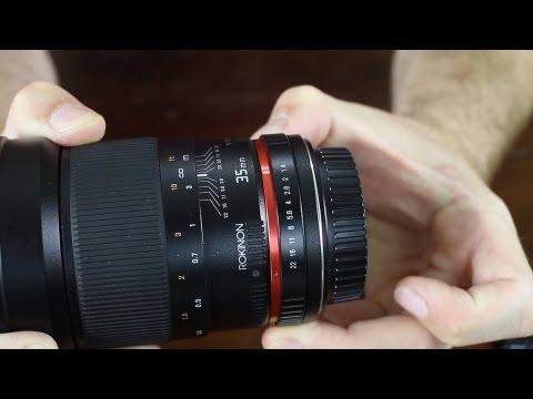 Rokinon 35mm f1.4 Review v.s. Canon 35mm f1.4 and Sigma 30mm f1.4 - DSLR FILM NOOB