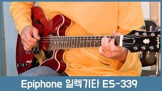[투데이스기어] Epiphone 에피폰 일렉기타 ES-…