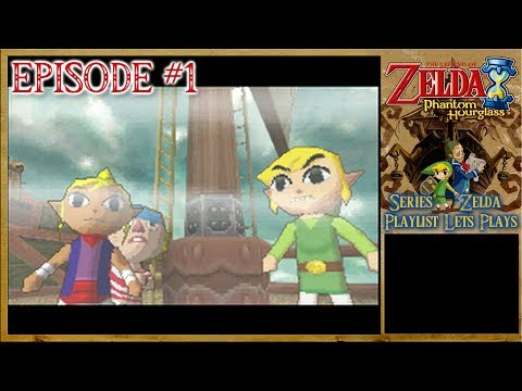 The Legend Of Zelda: Phantom Hourglass - Link's New Voyage, The Ghost Ship Abduction - Episode 1
