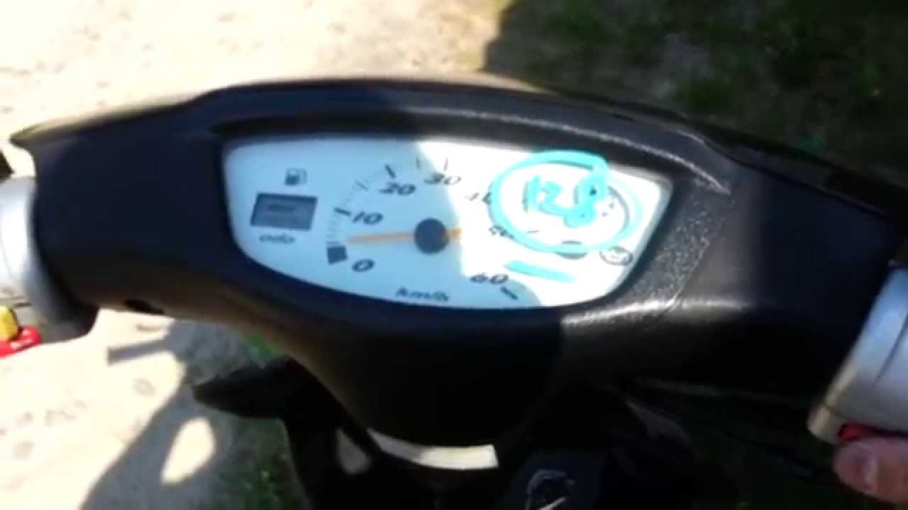 Yamaha Jog CG50 Moped Scooter Part 2 - YouTube