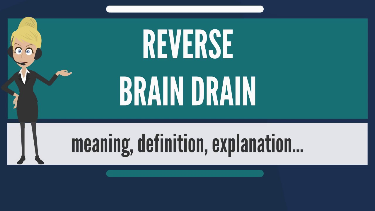 what is reverse brain drain? what does reverse brain drain mean