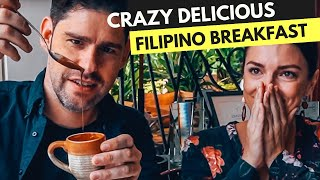 Crazy Delicious FILIPINO BREAKFAST FAVORITES in MANILA - Champorado, Tuyo, Tsokolate