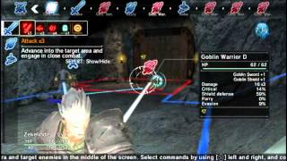 Natural Doctrine Vita Gameplay